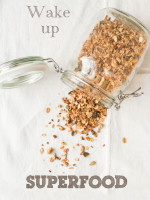 Wake Up Superfood Granola (Knuspermüsli mit Romantikfaktor)