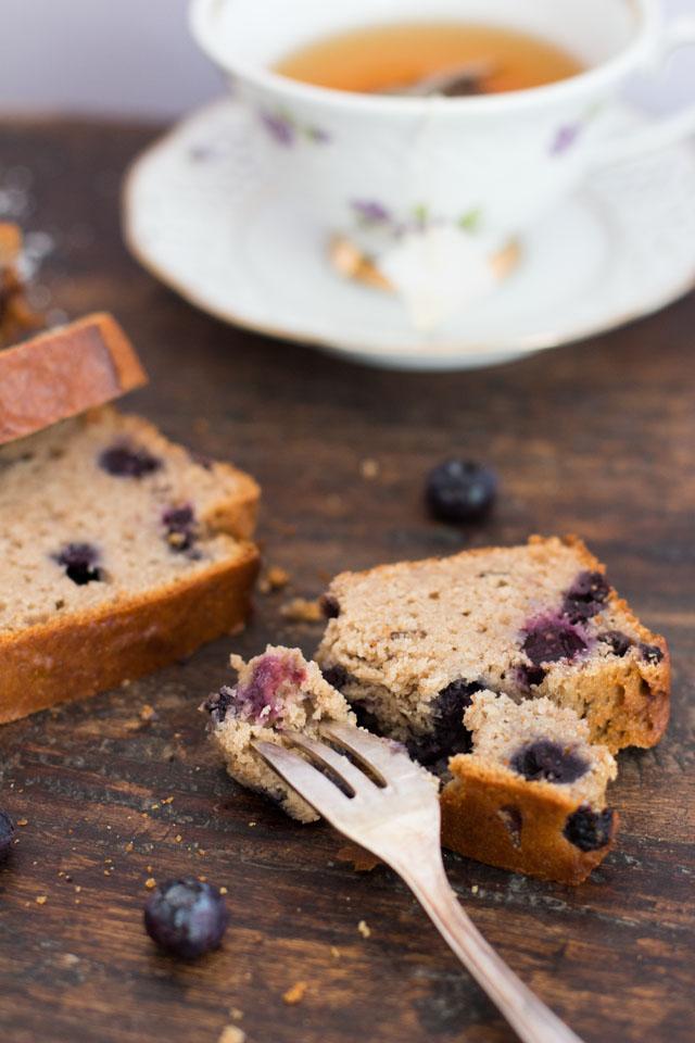 Gesunder Blaubeeruchen, so gut! Buchweizen, Dinkel, Mandeln, Datteln, Chia-Samen, Leinsamen...einfach fantastisch!