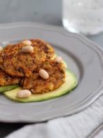 Süßkartoffel-Quinoa-Pilz Patties und das gesündeste Gemüse der Welt