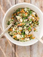 Gebackener Salat mit Datteln und Tahin-Dressing - we love!