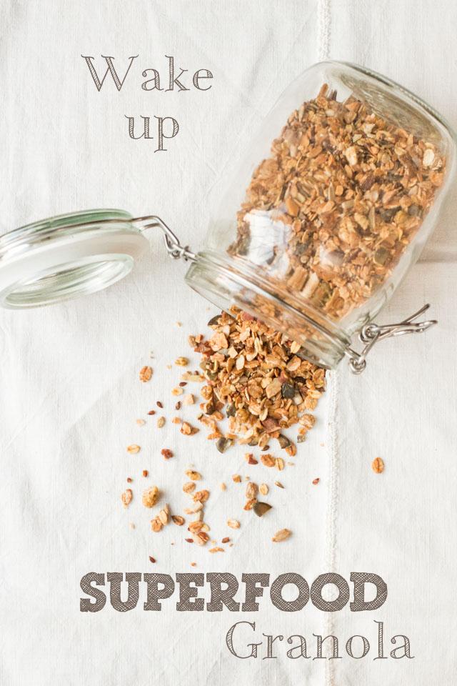 Wake Up Superfood Granola - Rezept und Infos zu Nährstoffen und Wirung von Carrots for Claire