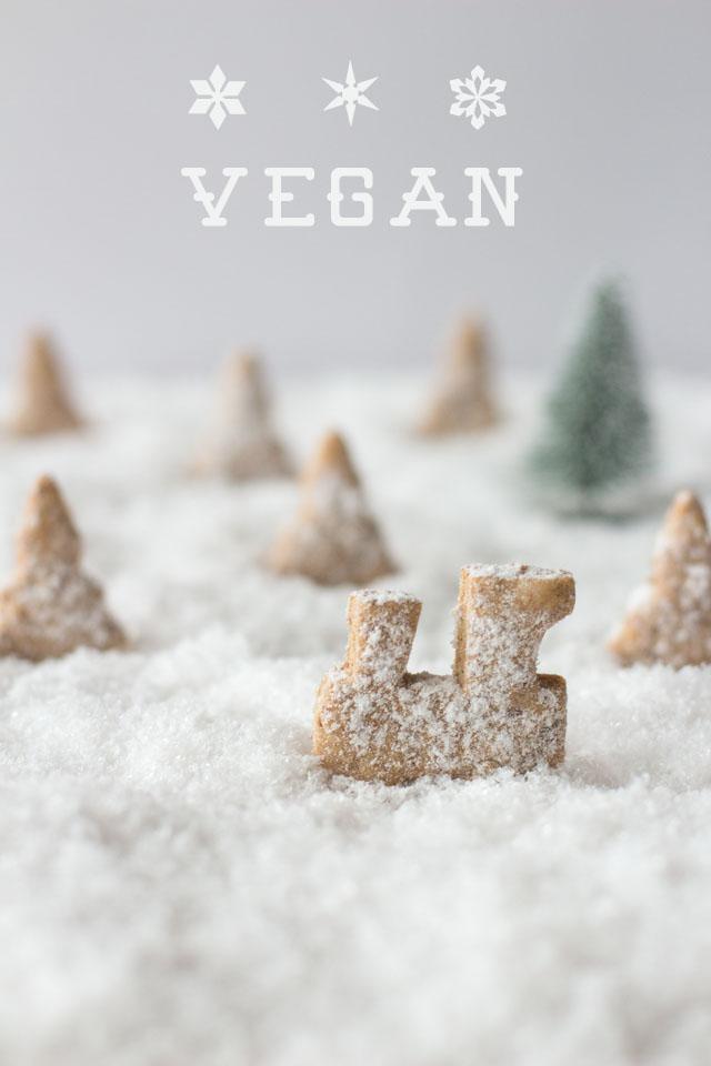 Vegane, gesunde Weihnachtsplätzchen - Carrots for Claire