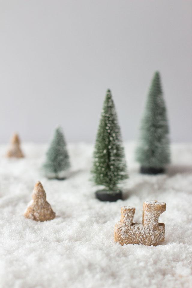 Gesunde Weihnachtsplätzchen (Vollwert, kein Zucker, keine Butter, kein Ei) - Carrots for Claire