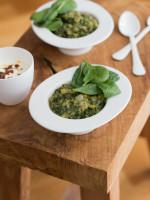 Rote Linsen One-Pot mit Spinat - und was ich gegen Kochunlust anstelle