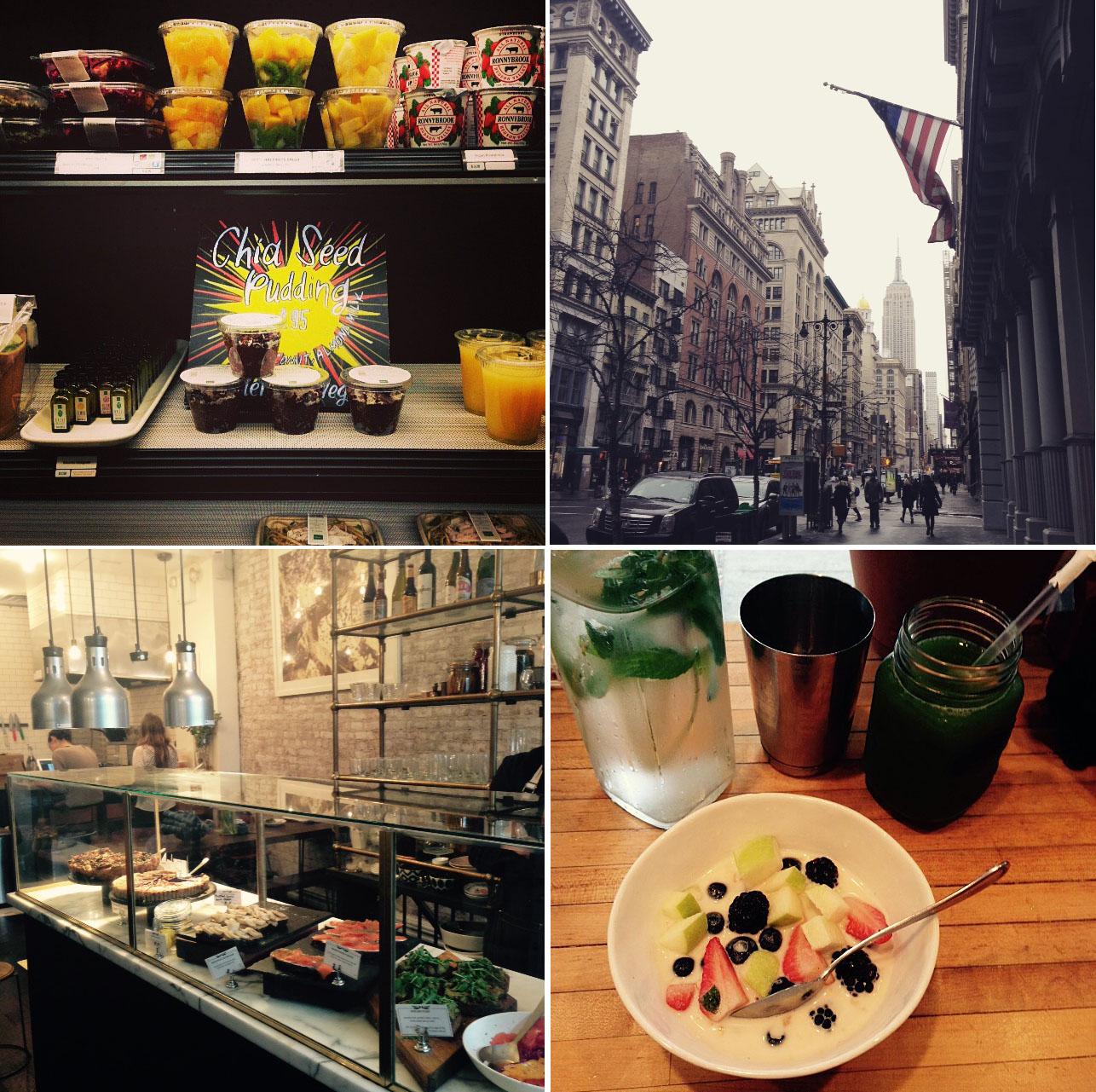 Gesund essen in NYC, Restaurants & Cafés die sich lohnen - Carrots for Claire