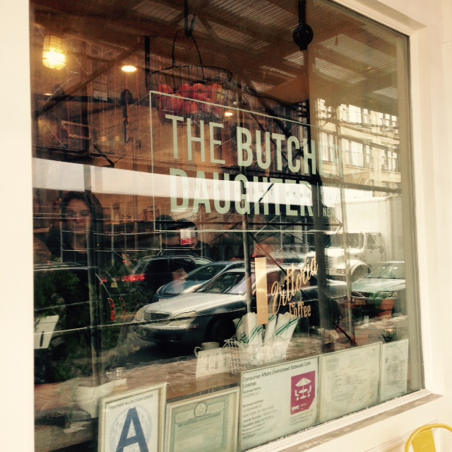 The Butchers Daughter Window