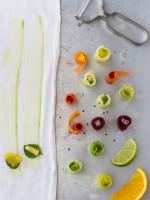Frischekick Fingerfood (vegan, vorwiegend roh, farbenfroh und fun!)