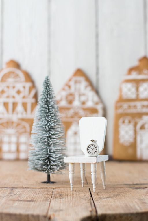 gesundes Weihnachten mit Lebkuchen