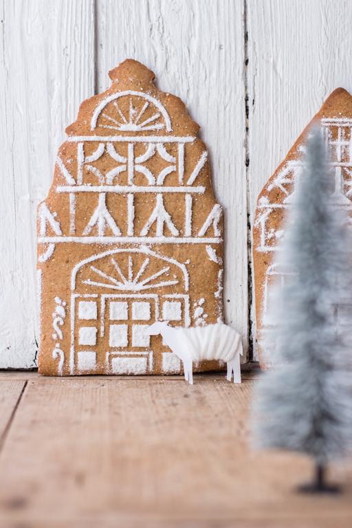 zuckerfreies Lebkuchenhaus