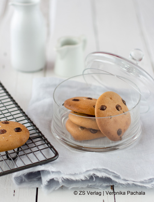 Rezept für Chocolate Chip Cookies aus Gesund Kochen ist Liebe