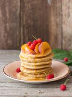 Über doppeltes Glück (Mamaglück und Buchglück!) und gesunde Pancakes