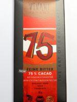 Schokolade gesüsst mit Kokosblütenzucker