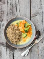 Quinoa aus Deutschland und Blitz-Curry (vegan und yum!)