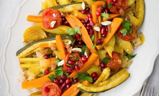 Gewürz-Gemüse aus dem Schongarer (für stressfreie Feiertage)
